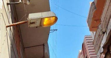 تنفيذ مشروعات صيانة لشبكات كهرباء بوسط سيناء