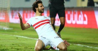 الزمالك يستعيد جهود محمود علاء خلال أسبوع