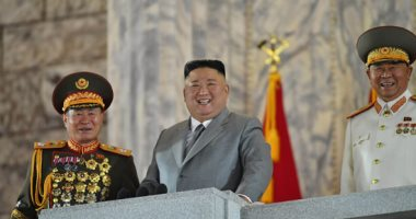 صور.. زعيم كوريا الشمالية يحتفل بذكرى تأسيس الحزب الحاكم وسط الصواريخ