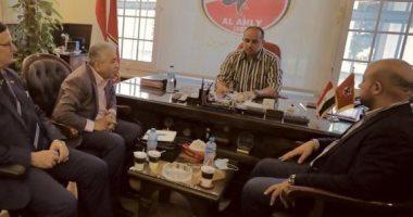 رئيس نادي الديوانية يتحدث عن احترافية أكاديمية الأهلي فى العراق