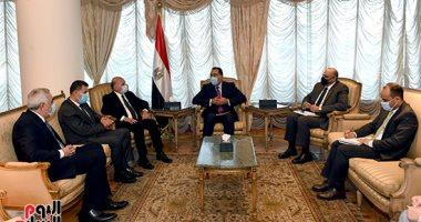 رئيس الوزراء يلتقى وزير خارجية العراق بشأن اللجنة العليا المشتركة بين البلدين