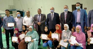تعليم الفيوم تقيم حفلا لتكريم 146 طالبا من أوائل الشهادة الإعدادية