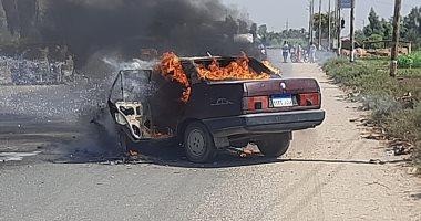 تعرف على طرق الوقاية من حرائق السيارات أثناء القيادة بالطرق