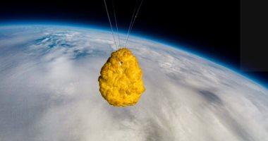 """""""قطعة دجاج ناجيت"""" فى رحلة هى الأولى من نوعها للفضاء.. فيديو"""