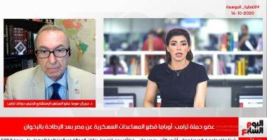 """""""حملة ترامب"""" لتليفزيون اليوم السابع: أوباما سعى لتقوية الإخوان و محمد مرسى"""