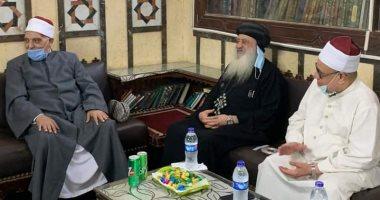 مطران طنطا يزور مسجد البدوى ويؤكد أعشق القطب الصوفى واحفظ سورة مريم