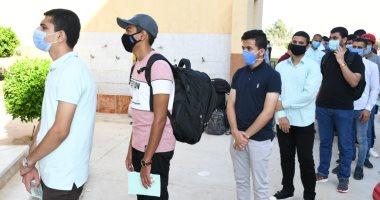تسكين 1700 طالب وطالبة بالمدن الجامعية بجامعة قناة السويس.. صور