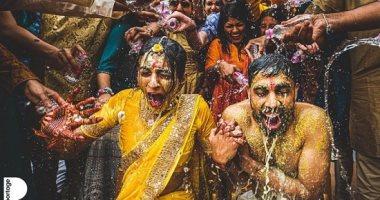 أفضل 10 صور حفلات الزفاف لعام 2020.. تقبيل الكلب للعريس ودموع الفرح