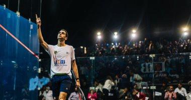 طارق مؤمن يتأهل لمواجهة على فرج فى نهائى بطولة مصر الدولية للاسكواش