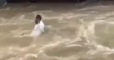 """""""العربية"""": مصرع 5 حتى الآن فى الفيضانات الجارفة بالجزائر"""
