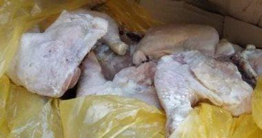 تموين بورسعيد يضبط دجاج منتهى الصلاحية وبدال يستولى على سلع مدعمة
