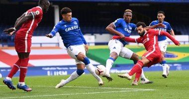 محمد صلاح يصل للمئوية في تعادل إيفرتون ضد ليفربول بالدوري الانجليزي