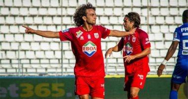 وردة يسجل أول أهدافه مع فولوس ويقوده لوصافة الدوري اليونانى.. فيديو