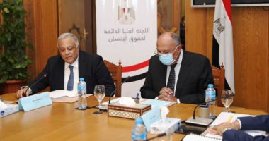 وزير الخارجية يشهد اجتماع هيئة إعداد أول استراتيجية وطنية لحقوق الإنسان