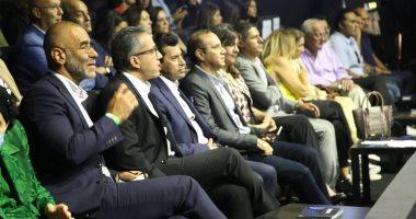 وزراء الرياضة والسياحة والهجرة يشهدون نهائي بطولة مصر الدولية للإسكواش