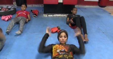"""حكاية """" نورا """" أول مدربة """"كيك بوكس"""" .. أعنف لعبة في مصر"""