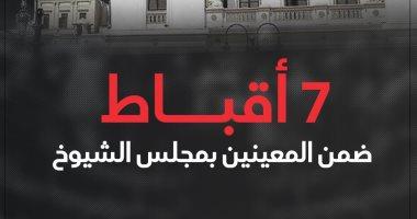 7 أقباط ضمن المعينين بمجلس الشيوخ.. إنفوجراف
