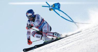 كأس العالم للتزلج على الجليد فى جبال الألب بسويسرا .. ألبوم صور
