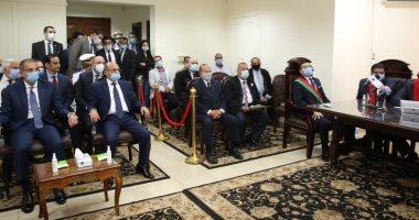 وزيرا العدل والاتصالات يشهدان إطلاق نظام تجديد الحبس الاحتياطي عن بعد