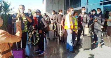 بعثة الأهلى تصل القاهرة قادمة من المغرب بعد الفوز على الوداد بثنائية نظيفة