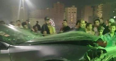 تصريح بدفن طالبتين وشاب لقوا مصرعهم لاصطدام سيارتهم بسور خلال زفة عروس بالجيزة