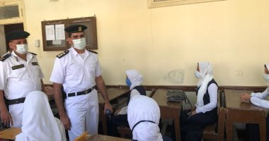 رئيس نقطة شرطة شطورة يصطحب بنت شهيد لمدرستها..صور