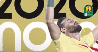 رسمياً.. أبو جبل أفضل لاعب فى مباراة الرجاء ضد الزمالك بدوري الأبطال