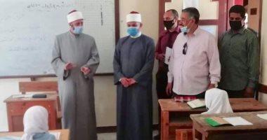 وكيل الأزهر بالإسكندرية يتفقد معهدى فتيات السيوف والإمام الحسين وإدارة شرق