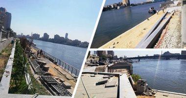 رئيس مدينة المنيا: الانتهاء من المرحلة الأخيرة لتطوير كورنيش النيل قريبا