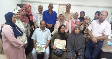 تكريم الأمهات المثاليات وتوزيع جوائز المسابقة الثقافية بشمال سيناء .. صور
