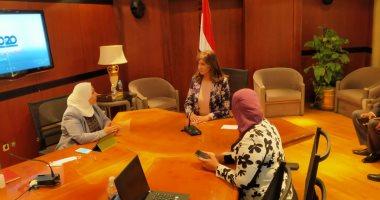 """نبيلة مكرم ترأس غرفة عمليات """"الهجرة"""" لمتابعة تصويت المصريين بالخارج بانتخابات النواب"""
