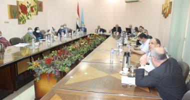 نائب رئيس جامعة طنطا يترأس اجتماع مجلس شئون التعليم والطلاب