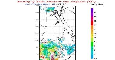 مركز تنبؤ الرى يؤكد هطول أمطار غزيرة على منابع نهر النيل غدا