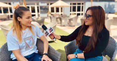 التونسية سندس حشانة محترفة سيدات يد الأهلى : معلول مثلى الأعلى ونفسى أكل ملوخية و طعمية
