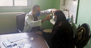 توقيع الكشف على 706 من أهالى مركز بسيون فى قافلة طبية لجامعة طنطا