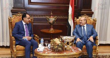 صور.. رئيس الشيوخ يؤكد خلال استقباله مصطفى مدبولى أهمية التعاون مع المجلس