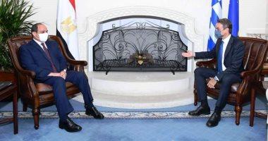 السيسى: ندعم مساعى جمهورية قبرص الرامية لإعادة توحيد شطرى الجزيرة