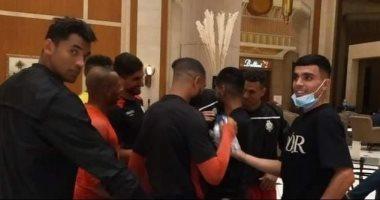 أشرف بن شرقى وأوناجم  يزوران بعثة الوداد فى القاهرة قبل مواجهة الأهلى