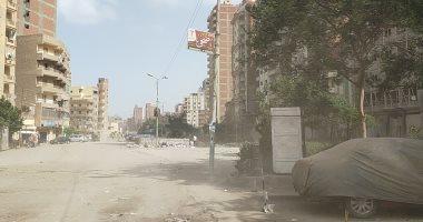 رياح شديدة وعواصف ترابية تضرب محافظة الغربية