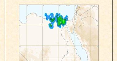 الأرصاد تكشف خريطة الأمطار المتوقعة بمحافظات الجمهورية غدا