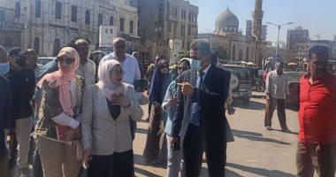 نائب محافظ القاهرة تتفقد مشروع ترميم مزارات آل البيت تهيدا لتشغيله