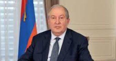 """رئيس أرمينيا يعلن اتخاذ """"تدابير عاجلة"""" لوضع حد للأزمة السياسية فى البلاد"""
