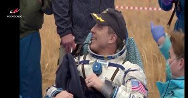 عودة 3 رواد إلى الأرض بعد قضاء 200 يوم بالفضاء.. صور