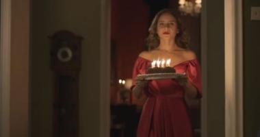 """نيللى كريم تكشف برومو فيلمها الجديد """"خط دم"""" مع ظافر العابدين.. فيديو"""