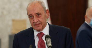 رئيس البرلمان اللبنانى يؤكد أهمية استئناف مفاوضات ترسيم الحدود
