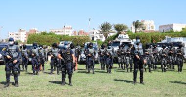 انتشار قوات الشرطة بمحيط لجان الاقتراع لتأمين انتخابات مجلس النواب
