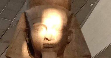 كيف نجح المتحف المصرى الكبير فى تكرار ظاهرة تعامد الشمس على رمسيس الثانى