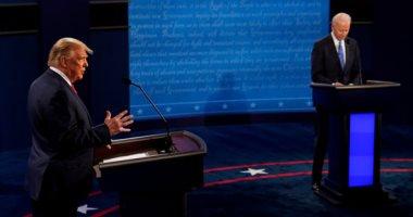 ترامب وبايدن فى المناظرة