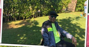 شاهد صلاح السعدنى فى أحدث ظهور له احتفالا بعيد ميلاده الـ77