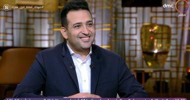 """تامر حسين: الهضبة شايل الصناعة على كتفه وأعتز بأغنية """"تحيا مصر"""" لـ أحمد جمال"""